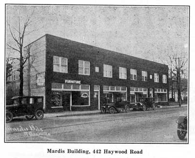 Mardis Building Historic Image